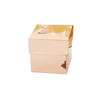 Rose Gold Favor Box 10 Pack
