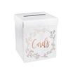 ROSE GOLD POST BOX & LID 248x248X300mm
