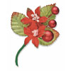 Christmas Spray Poinsettia/Red Berry