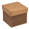 Corrugated Square Box with Lid