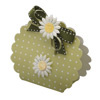 Dots Moss/Green Round Bag Box