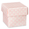 Gingham Square Box with Lid