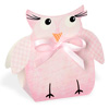 Owl Shape Pink Box