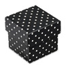 Dots Square Box with Lid