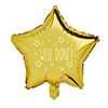 WELL DONE GOLD STAR FOIL BALLOON 1PK 20