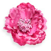 Satin Peony with a clip