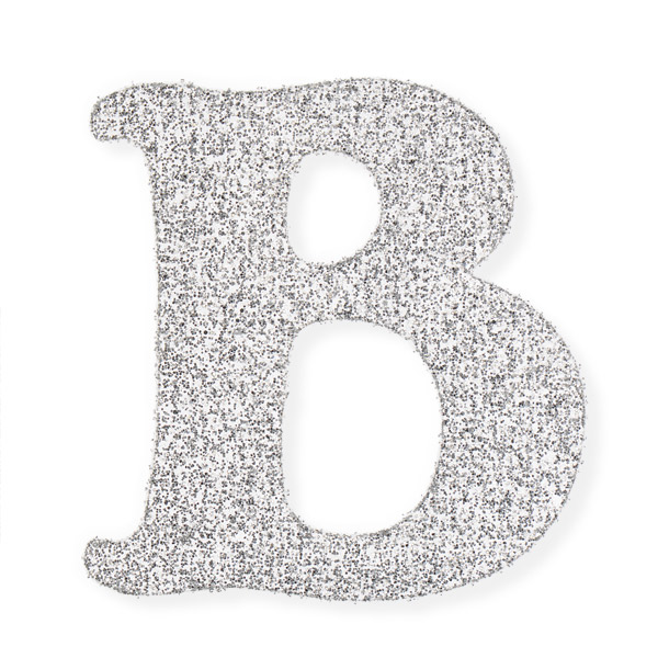 self adhesive glitter letters With glitter adhesive letters