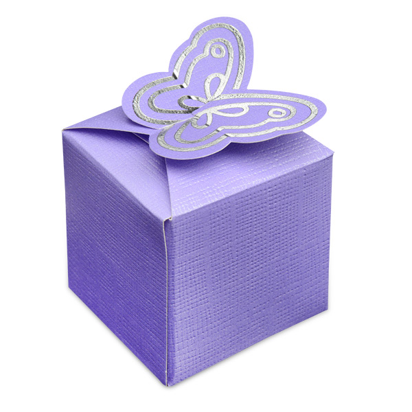 Butterfly Wedding Gift Card Box : Butterfly Square Box