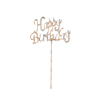 Diamanté Happy Birthday Stem