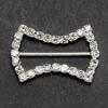 Large Diamanté Bow Ribbon Buckle