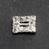 Mini Diamanté Rectangle Buckle