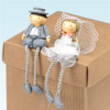 Resin Mr & Mrs with Dangly Legs