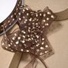 Organza Pull Bow Cream Spots