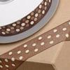 Organza Ribbon Cream Spots