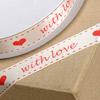 Satin Ribbon with Love