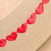 Padded Hearts Red Horizontal