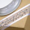 Organza/Tinsel Lined Ribbon