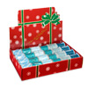 A Box of Wired Edge Christmas Assorted Ribbons