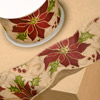 Hessian Wired Poinsettia