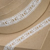 Lace Trim with Ribbon Thread
