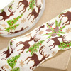Wired Ribbon with Stag