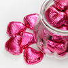 Foiled Chocolate Heart