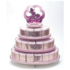 3-Tiers Card Stand with 48 Heart Box