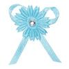 Satin Daisy/Diamanté Bows