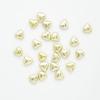 N/K SMALL CHOCOLATE HEARTS MET.GOLD 15MM (1Kg)