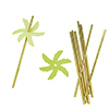 Palm Leaf Paper Straws