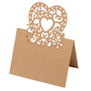 Place Card Laser Heart