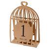 Table Numbers 1-15 Laser Bird Cage