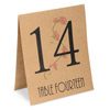 Table Numbers 1-15 Country Garden