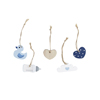 Blue Assorted Wooden Charms