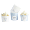 Blue Assorted Spotted Cups