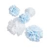 Blue & White Pom Pom