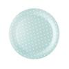 Unisex Spotty Paper Plates x10