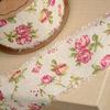Linen Country Garden Ribbon