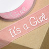 Organza Ribbon It's a Girl