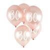 30th' Milestone Balloon  5 Pack