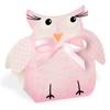 Owl Shape Pink Box