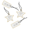 WELL DONE GIFT TAGS 4PK (H)6CM