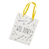 WELL DONE GIFT BAG 1PK W20xH25xD20 (CM)