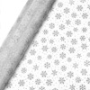 Organza with Snowflake